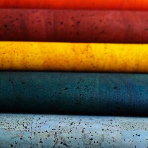 Korkstoff-farbig