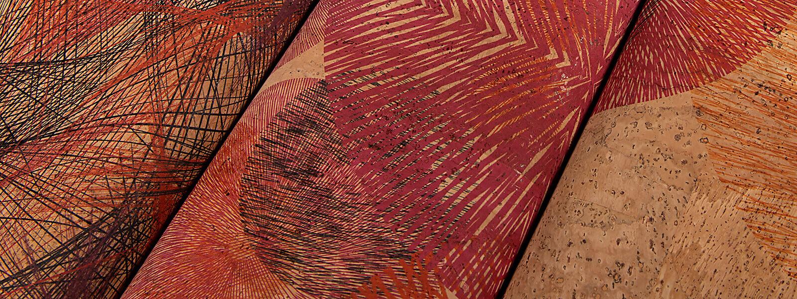 Premium Kork ColorfulCork Farbkombinationen Rottöne by juttahellbach