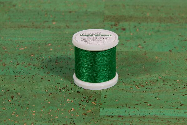 Garn-Madeira-grasgrün