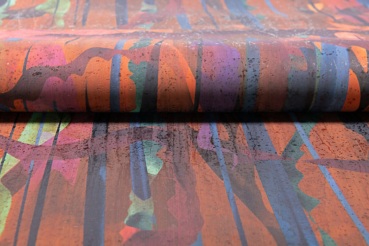 Premium Kork ColorfulCork No.020 by juttahellbach