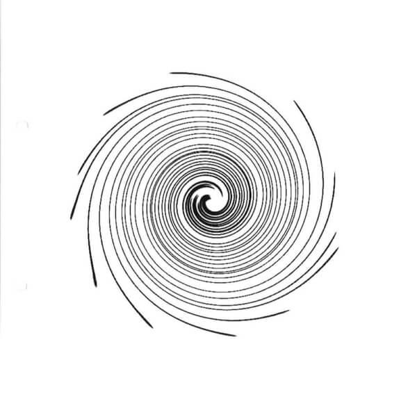 Thermofaxsieb Motiv Spirale-1