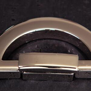 Taschenzubehör-Drehverschulss deluxe-vernickelt