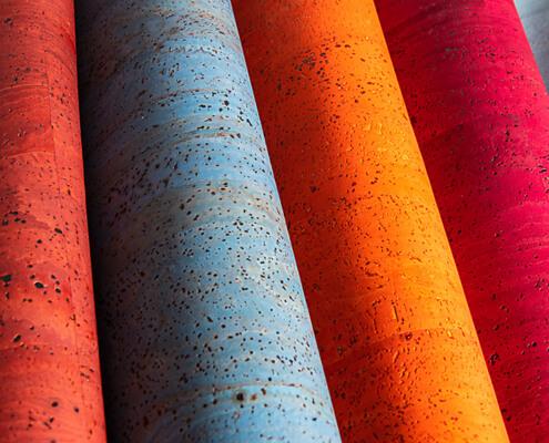 korkundkuloer.de korkstoff korkleder farbig bunt
