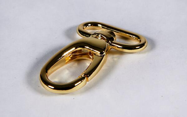 korkundkuloer taschenaccessoires Taschenkarabinerhaken-gold