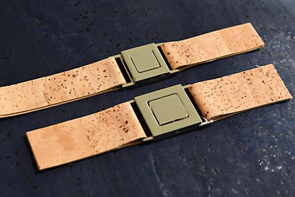 korkundkuloer taschenaccessoires armbandverschluss