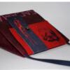 Umhängetasche SimplyEdition, Designtasche Edition Jutta Hellbach - Dreifarbigkeit und Materialmix