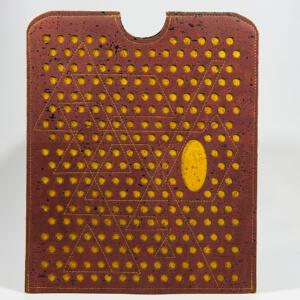 Circles, Tablet/Laptop Hülle Edition Jutta Hellbach - Kontrast von Farbe und Form
