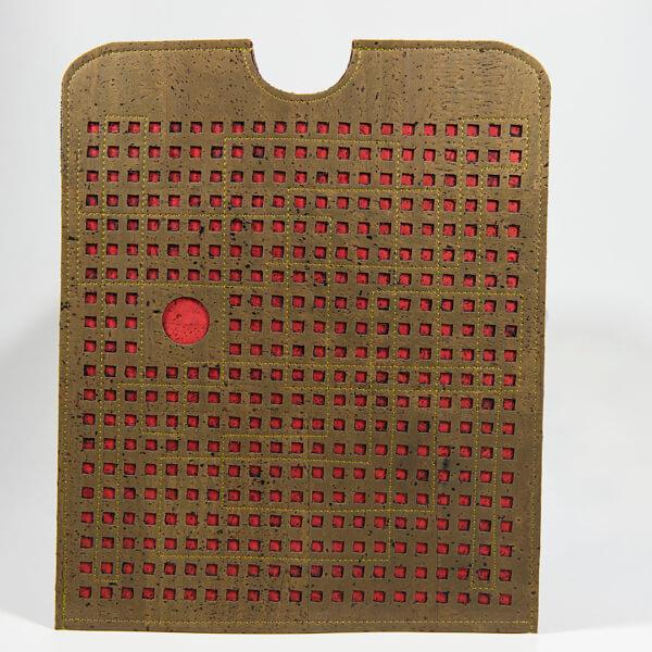 Squares, Tablet/Laptop Hülle Edition Jutta Hellbach - Kontrast von Farbe und Form