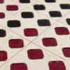 Squares, Tischset Edition Jutta Hellbach - Kontrast der Farben des Korkleders