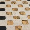 Squares, Tischset Edition Jutta Hellbach - Kontrast von Farbe und Natur