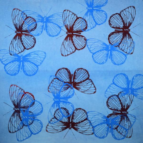 kulörtexx Butterfly 02 print