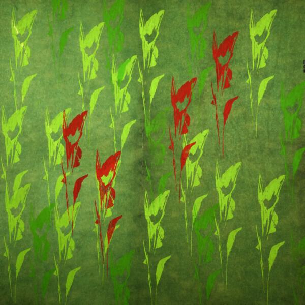 kulörtexx Tulips 03 print korkundkulör