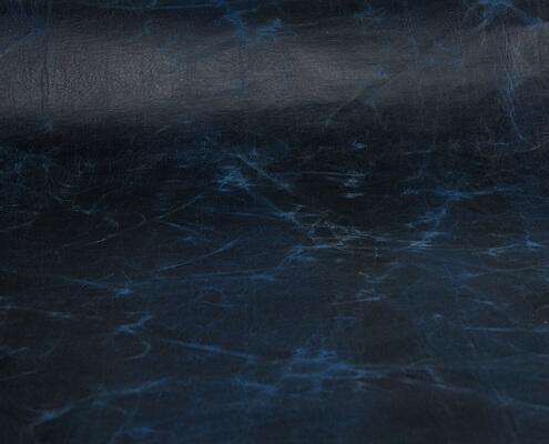 Lederpapier gewachst blau von korkundkuloer